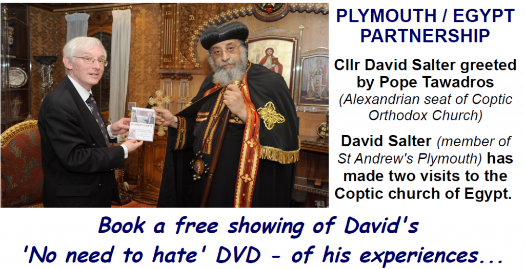 Plymouth's Partnership with Egyptian Coptic Christians