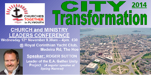 City Transformation Conference 12 Nov