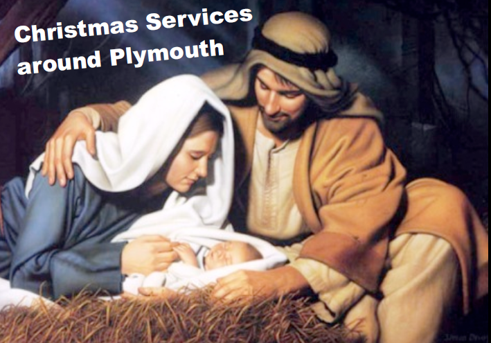 Christmas Services around Plymouth