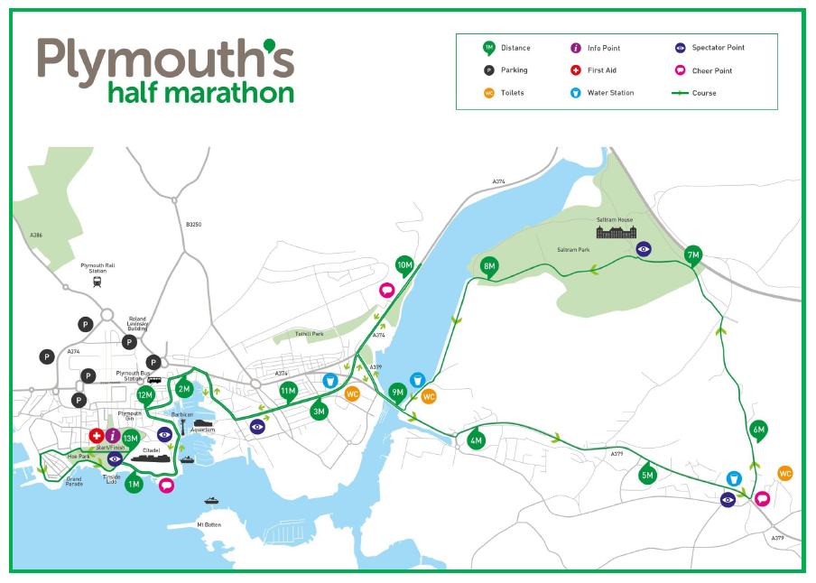 Plymouth S Half Marathon Churches Together In Plymouth
