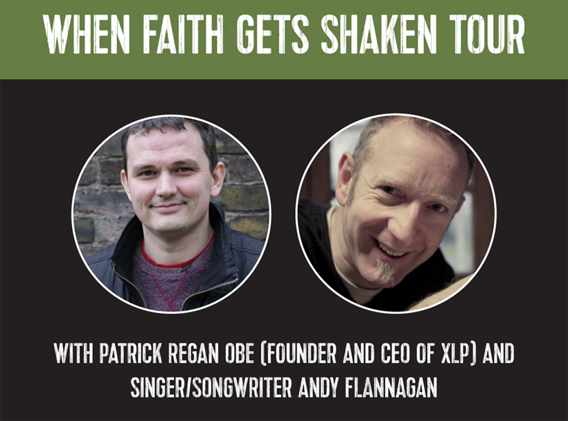 "Patrick Regan ""When faith gets shaken"" Tour"