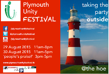 Annual Unity Festival on the Hoe – Taking the party outside