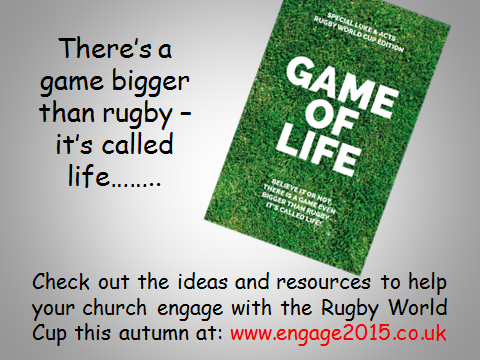 Engage with the Rugby World Cup this Autumn