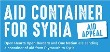 Refugee Crisis – Aid Container for Syria