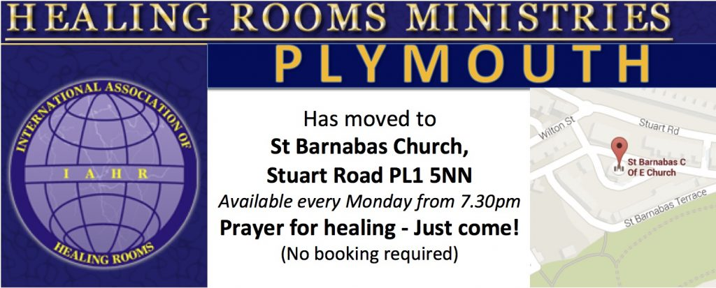 Healing Rooms have moved