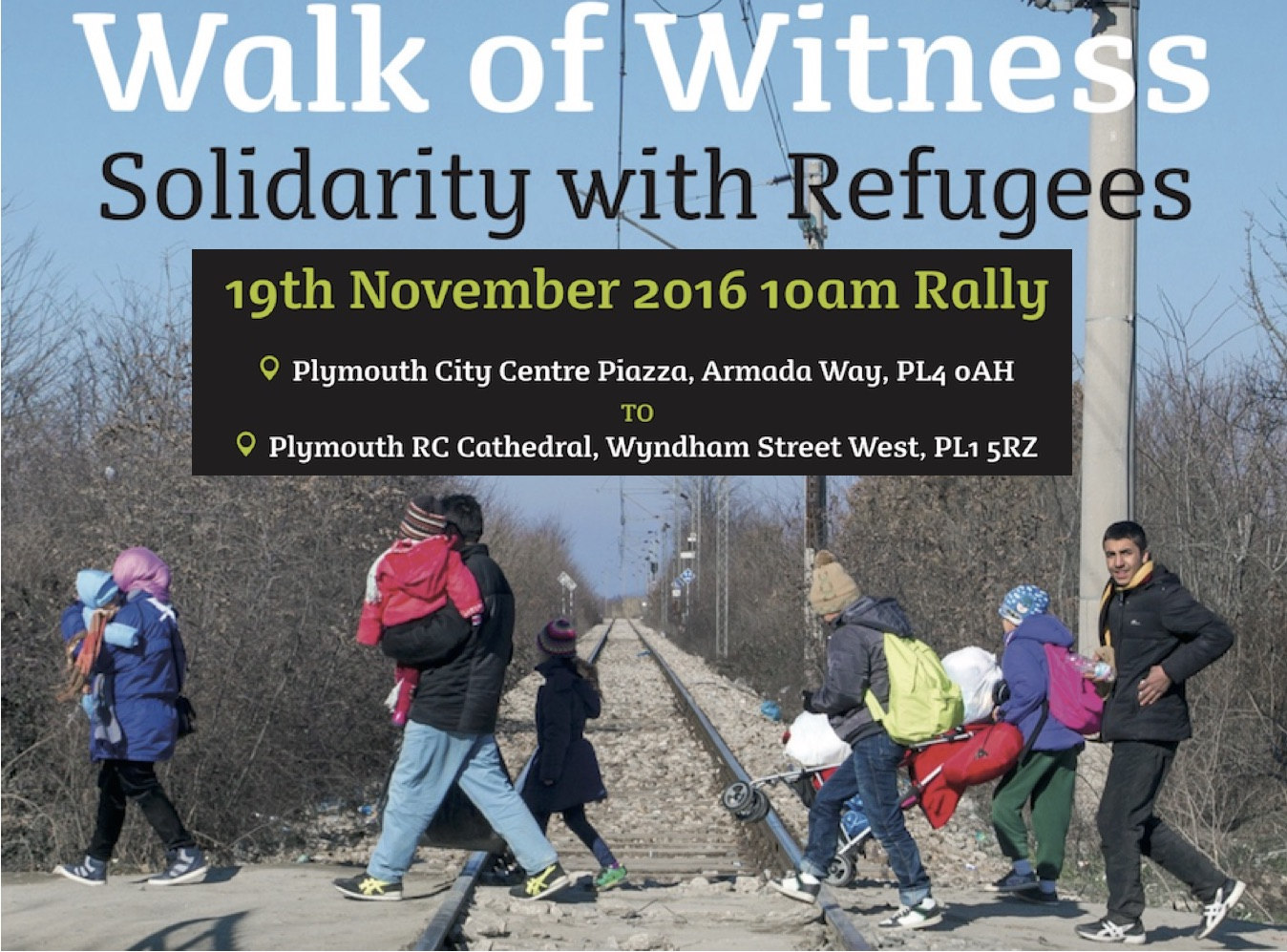 Walk of Witness – Solidarity with Refugees