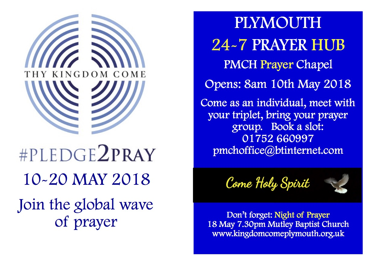 10daysPrayJ | Churches Together in Plymouth
